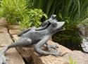 Bronzen-kikker
